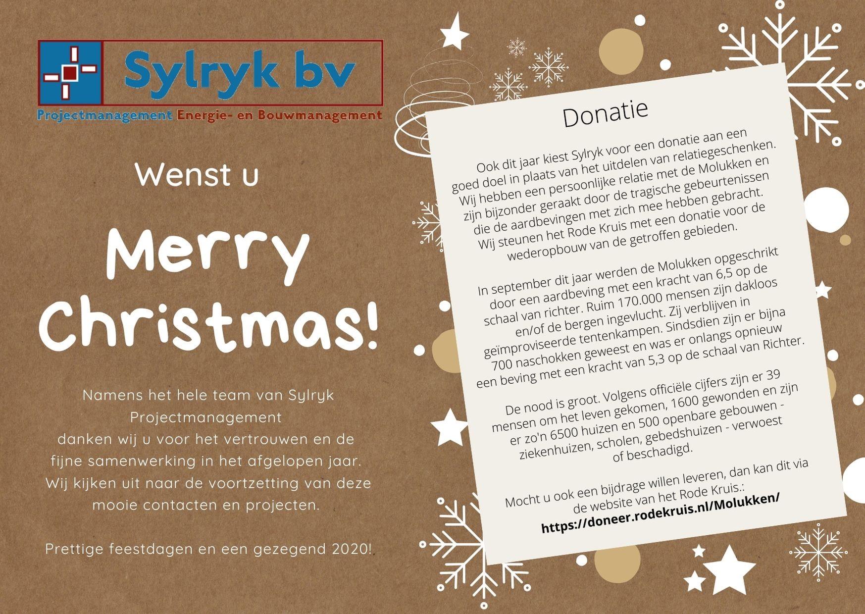 Kerstwens 2019 Sylryk Projectmanagement