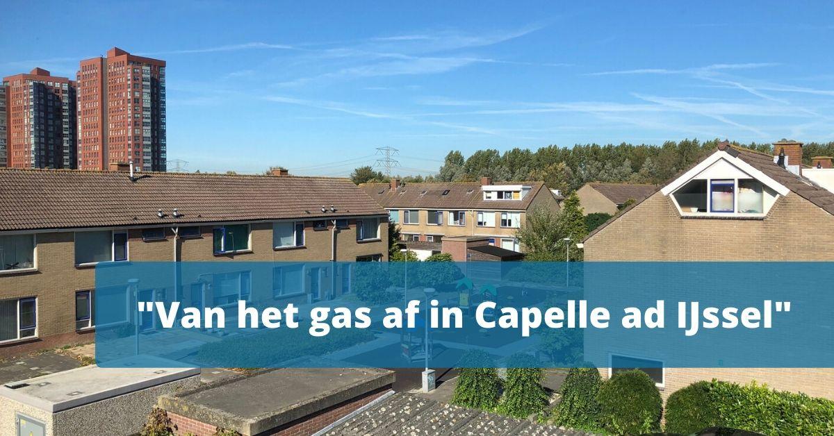 200415 Van het gas af in Capelle ad IJssel
