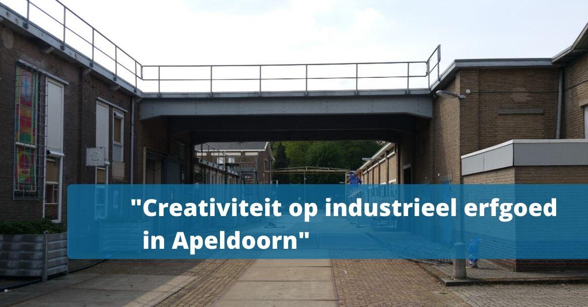 200423 Creativiteit op industrieel erfgoed in Apeldoorn